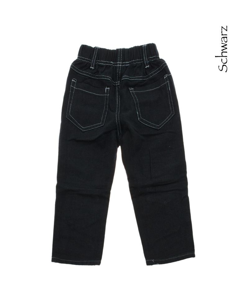 jungen jeans kinder hose mit motiv neu schwarz o. Black Bedroom Furniture Sets. Home Design Ideas